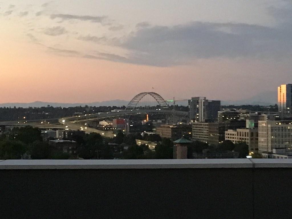 Portland, looking North