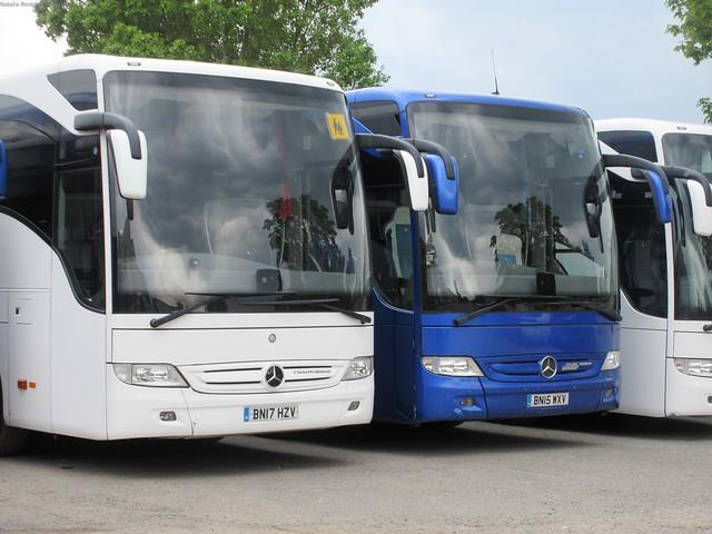 BN17 HZV & BN15 WXV (6-6-21) Gravesend