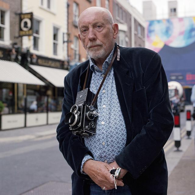 Portrait of a Photographer - John Minihan