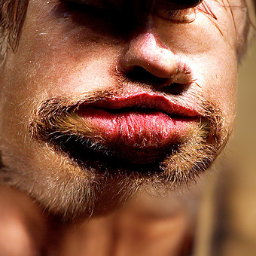 'Brad Pitt' CLIP Guided Diffusion Text-to-Image