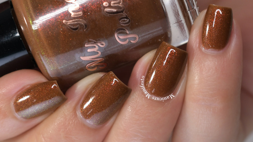 My Indie Polish The Leaves Are Not Dying Swatch