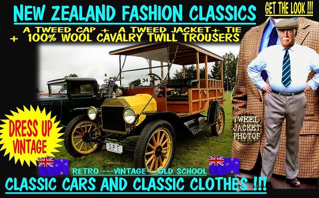 get the look wear tweed old car 5