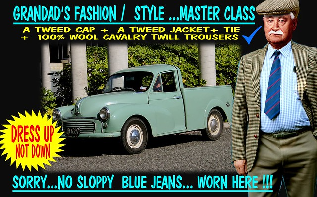 Grandad Says Dress Up Not Down  Old Cars 7