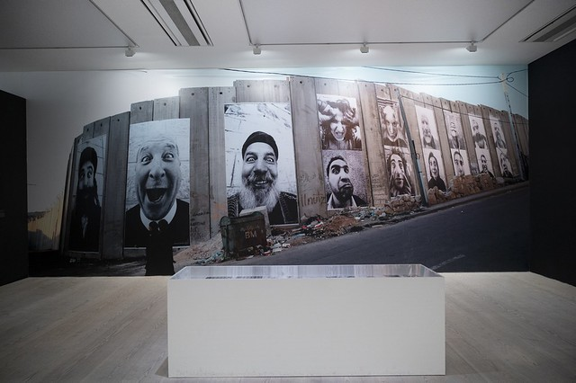 JR: Face To Face, Separation Wall