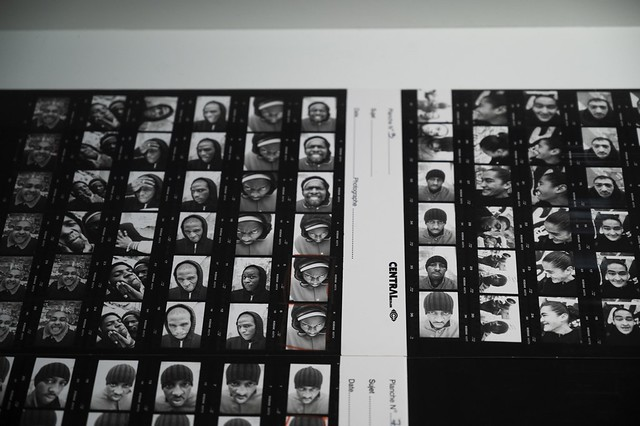 JR: Portrait Of A Generation Contact Sheet