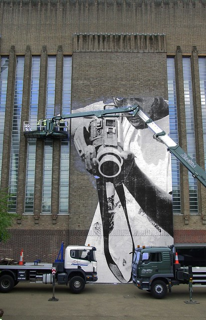 JR Work In Progress, Tate Modern 2008