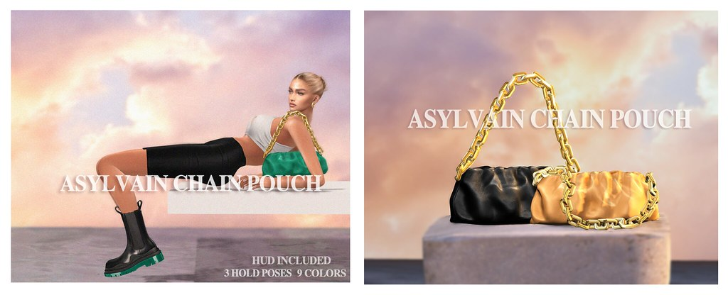 ASYLVAIN CHAIN POUCH NOW AT THE GRAND EVENT