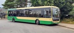 Rambler coaches Optare Tempo YJ10 EXS sits at Ashford International Station