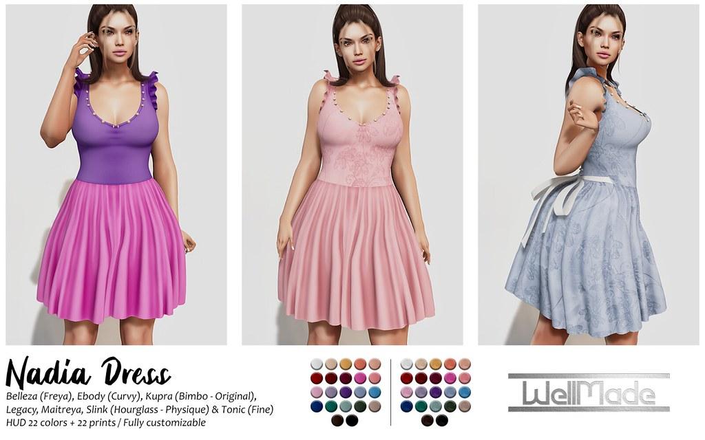 [WellMade] Nadia Dress