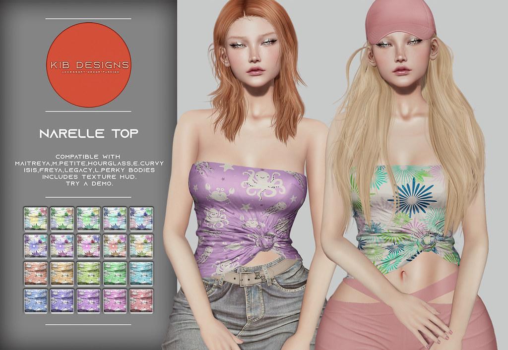 KiB Designs – Narelle Top @Designer Showcase 5th August