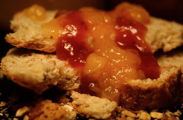 Bread and topping