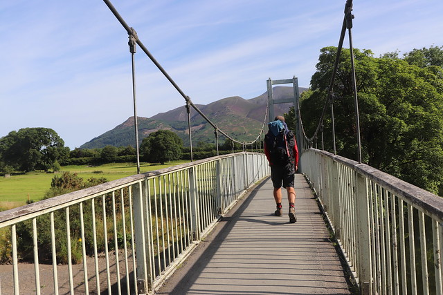 Path from Portinscale to Keswick