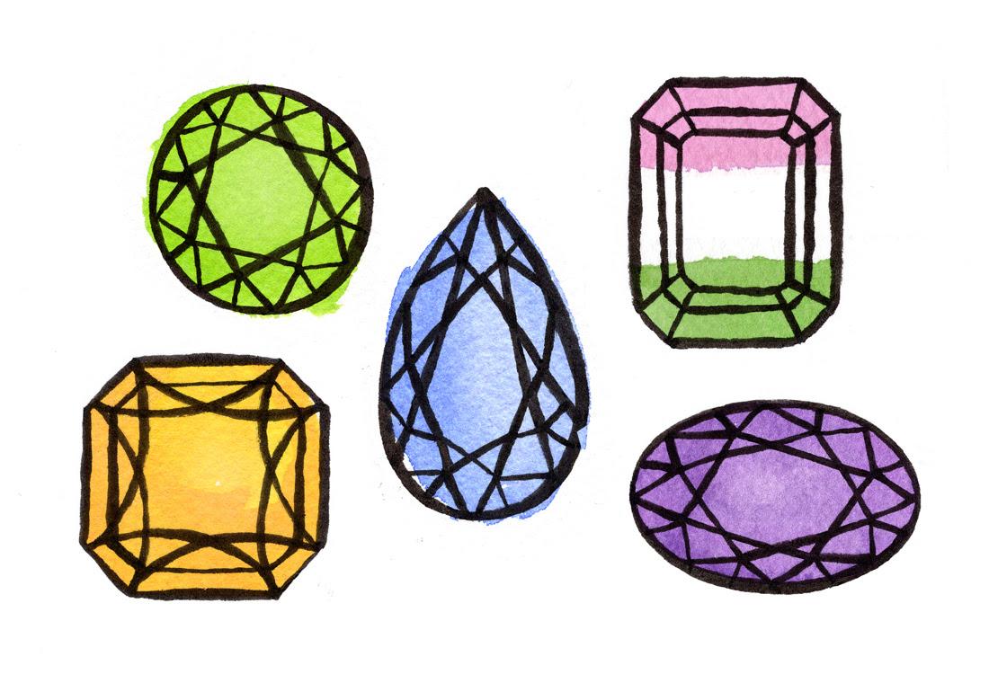 Gemstone Art by Bunny Miele