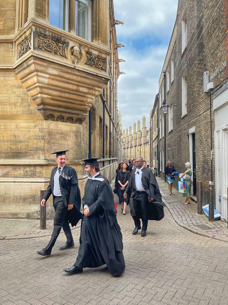 Cambridge graduation