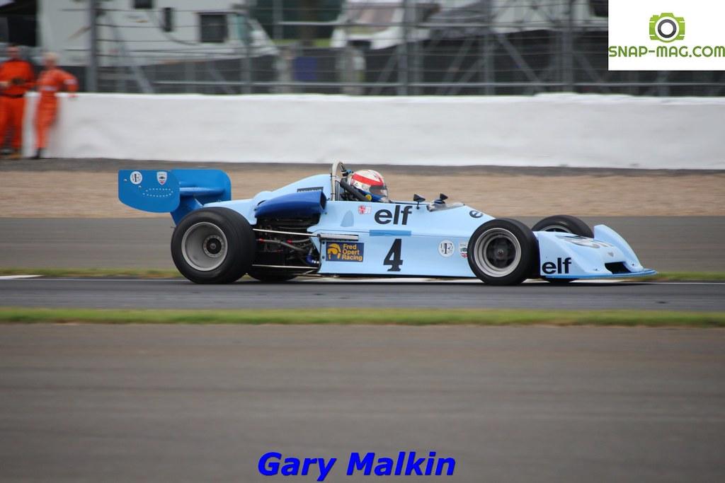 Chevron B40 (Blue) 1977 - O'Connell (Silv.19aa)