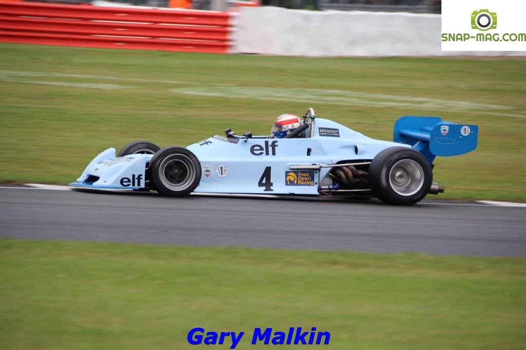 Chevron B40 (Blue) 1977 - O'Connell (Silv.19cc)