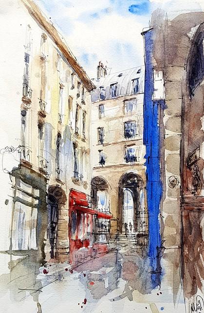 Rue de l'hirondelle, Paris