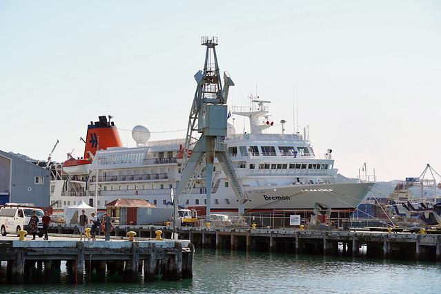 Hapag-Lloyd Cruises 'Bremen' - Wellington
