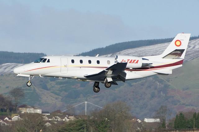 I-TAKA Sardinian Sky Service - Cessna 560XL Citation XLS