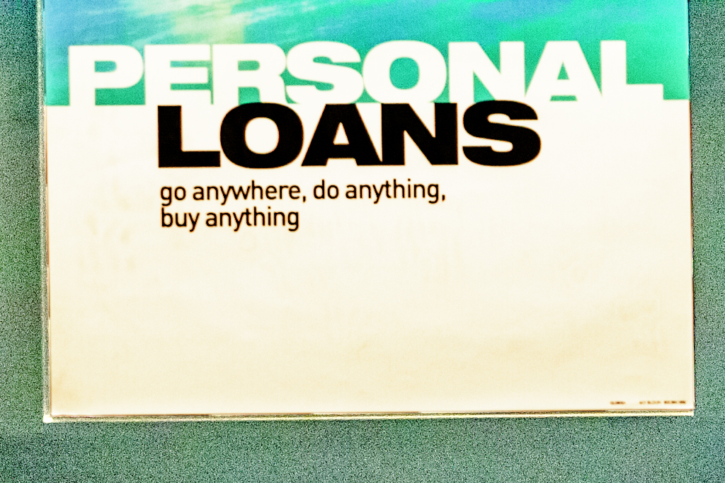 PERSONAL LOAN go anywhere do anything buy anything on 10-22-09--Chicago (detail)