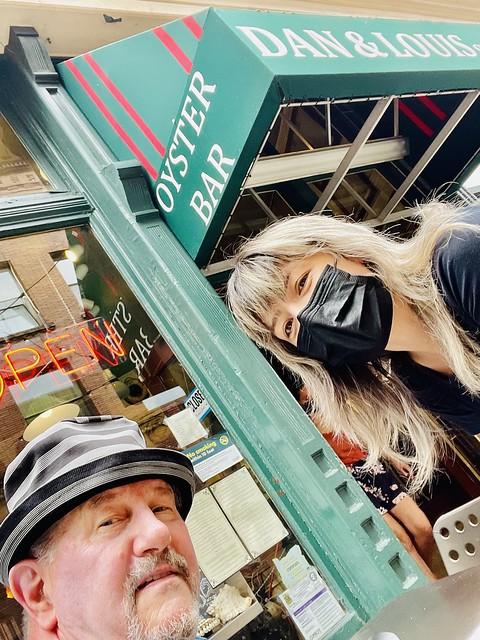 Dan & Louis Oyster Bar is OPEN again. Portland. July 2021
