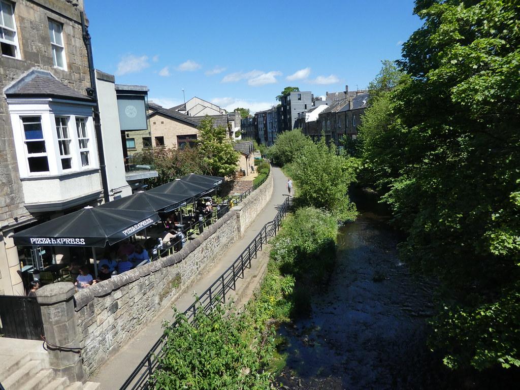 The Water of Leith Walkway in Stockbridge, Edinburgh