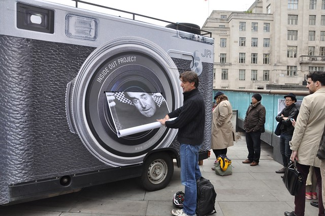 The Inside Out photo booth at Somerset House, 2013