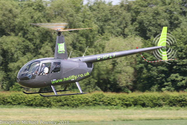 G-HFLY - 2007 build Robinson R44 Raven II, airframe exported to Austria in early 2020