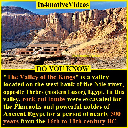 The Valley of the Kings - Rock-Cut Tombs Of Ancient Egypt