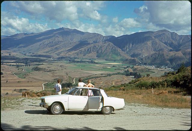 Overlooking Arrowtown, Central Otago, New Zealand, 1975