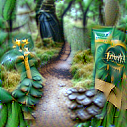 'a forest path' CLIPRGB