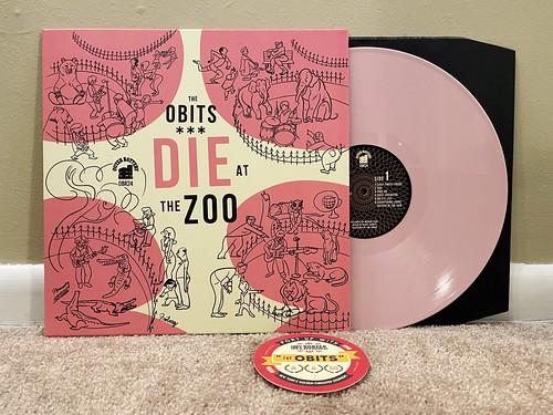 The Obits - Die At The Zoo LP - Pink Vinyl (/300)