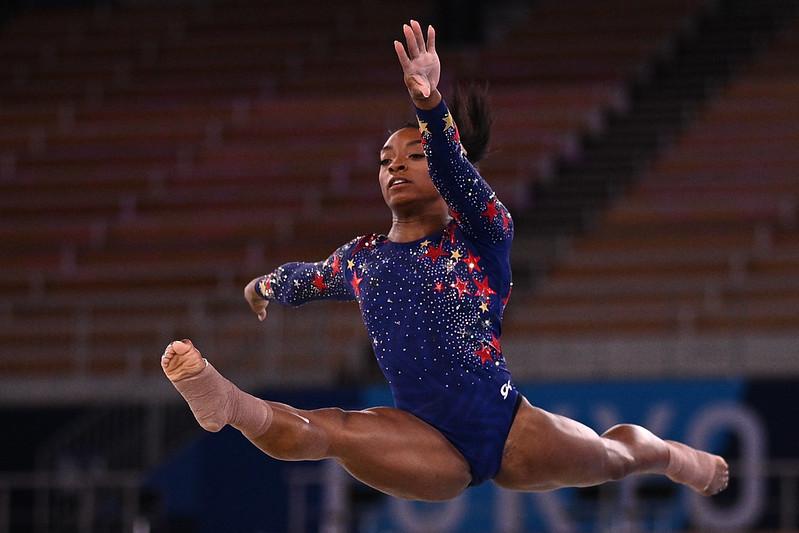 Simone Biles。【AFP授權】