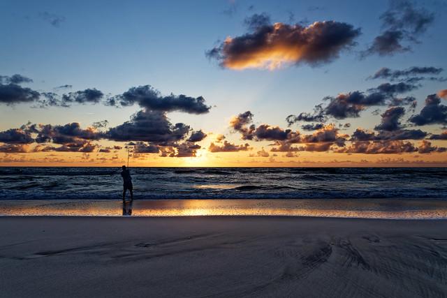 fishing at sunset (explored)
