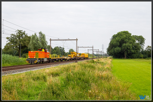 Hengelo 21-07-2021, RTS 1018 + Swietelsky Kirow Kraan