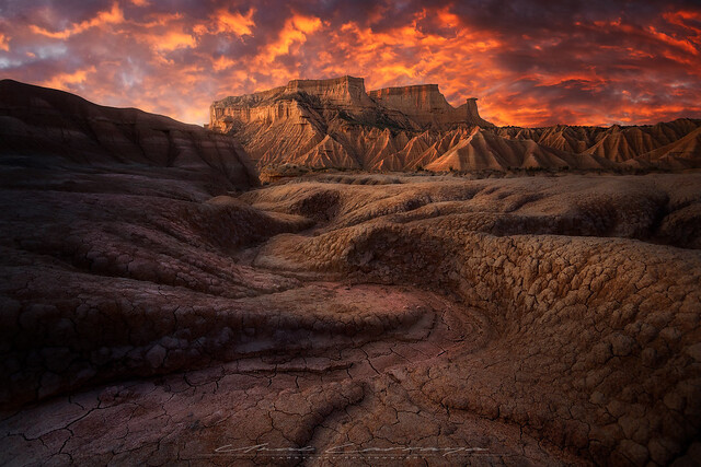 Erosion formations