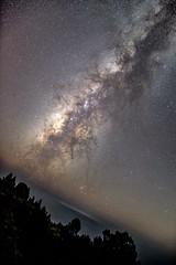 Milky Way above La Palma.