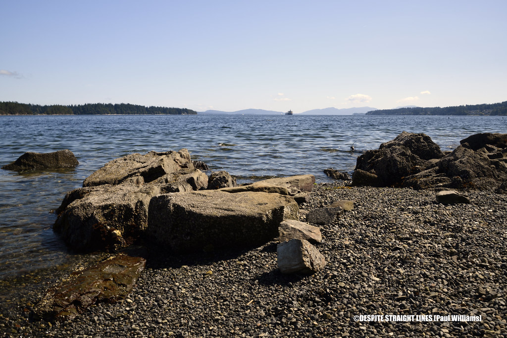 Transfer Beach in Ladysmith, Vancouver Island, British Columbia in Canada  -  (Published by GETTY IMAGES)
