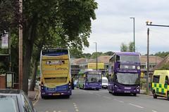 Purple 469 (rear), Purple 471 & Purple 369