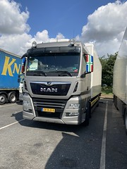 Nice MAN ,Netherlands registered ,Thurrock ,services ,Essex today .