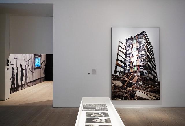 Portrait Of A Generation inside demolished building