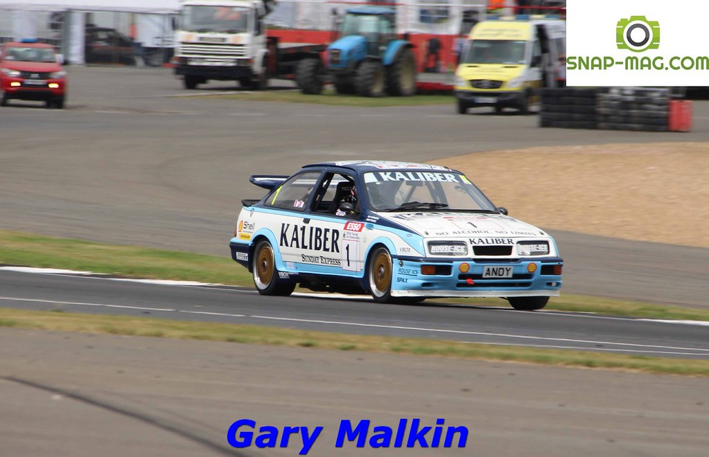 Ford Sierra Cosworth RS500 (Kaliber Rouse) 1989 - Thomas & Lockie (Silv.19af)