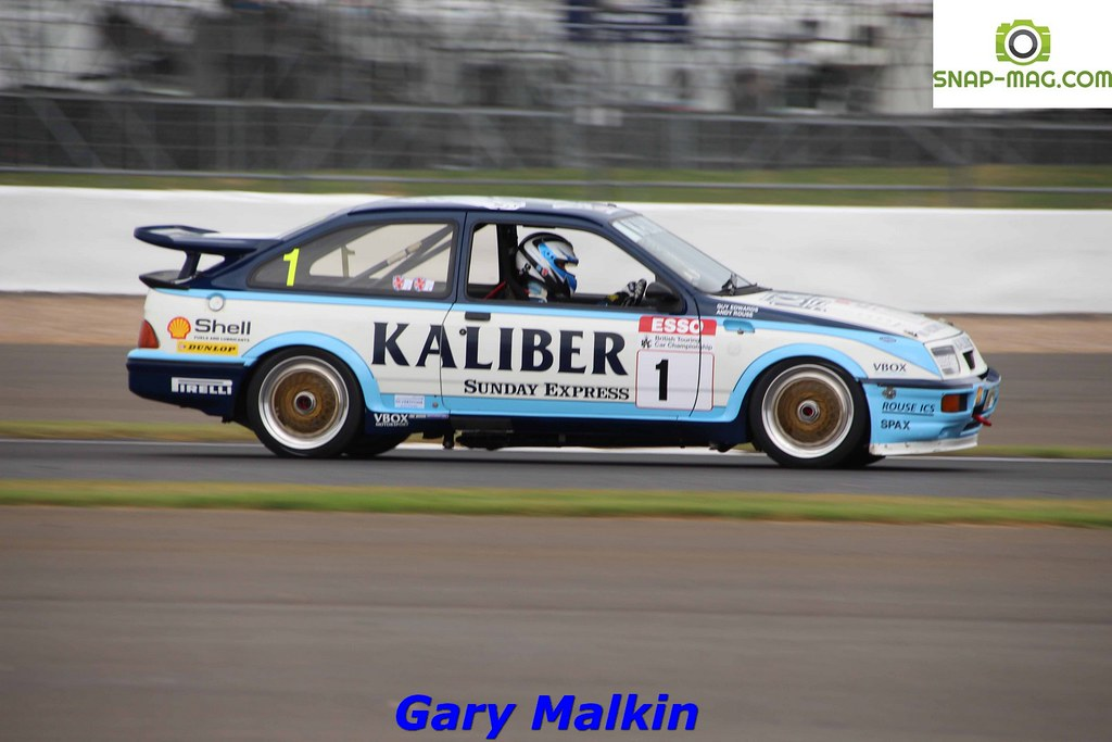 Ford Sierra Cosworth RS500 (Kaliber Rouse) 1989 - Thomas & Lockie (Silv.19aa)