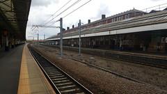 Platforms at Bolton Railway Station
