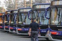 Entrega de u00d4nibus + Anu00fancio de Implantau00e7u00e3o do AME e do Centro Lucy Montoro em Su00e3o Bernardo do Campo
