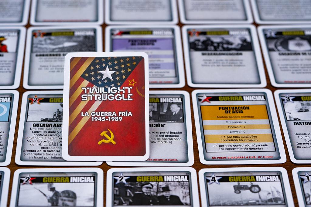 Twilight Struggle boardgame juego de mesa