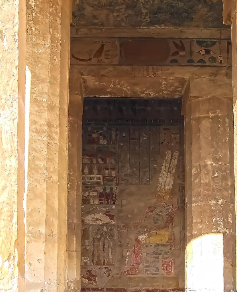 Mortuary Temple of Hatshepsut Frescoes