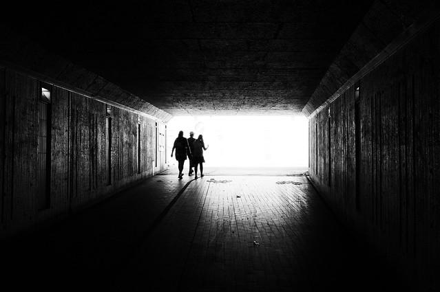Towards the light