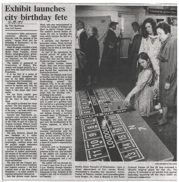 Exhibit launches birthday fete