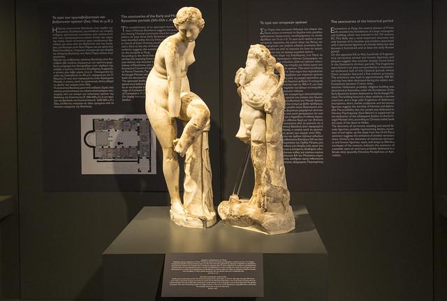 Kreta - Elefterna - wystawa  znalezisk z wykopalisk kultury Minojskiej  - maj 2021